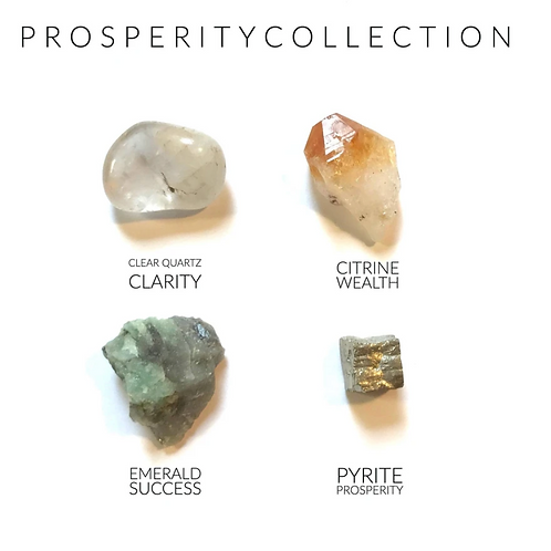 Prosperity Collection - Crystal Box 12 Set - Attract Abundance and Success