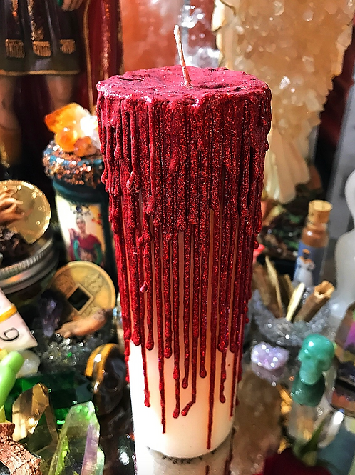 Fear Not To Walk Over Evil Candle   Protection, Shielding