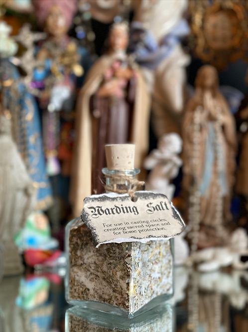 Warding Salt- Casting Circles, Creating Sacred Space, & For Home Protection