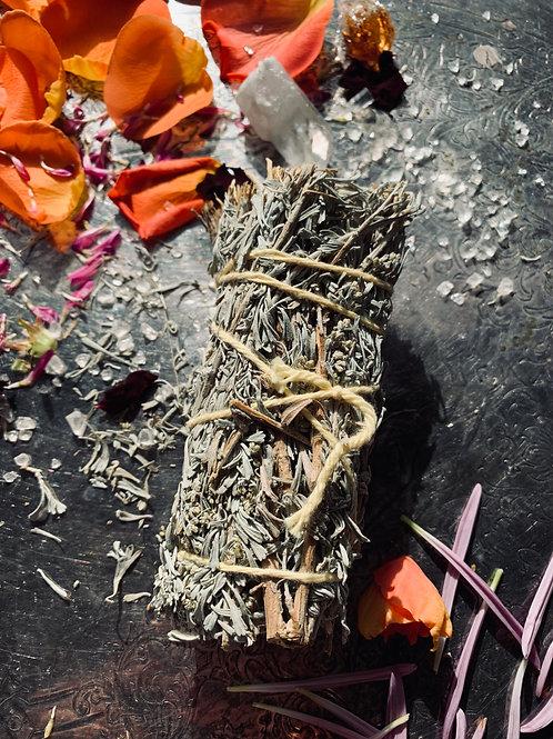 Desert Sage & Copal Smudge, 5 -Access Your Innate Wisdom, Divination, Abundance