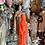 FEMALE- NEON ORANGE Figure Candle- Open Roads, Renewal, Success, Luck