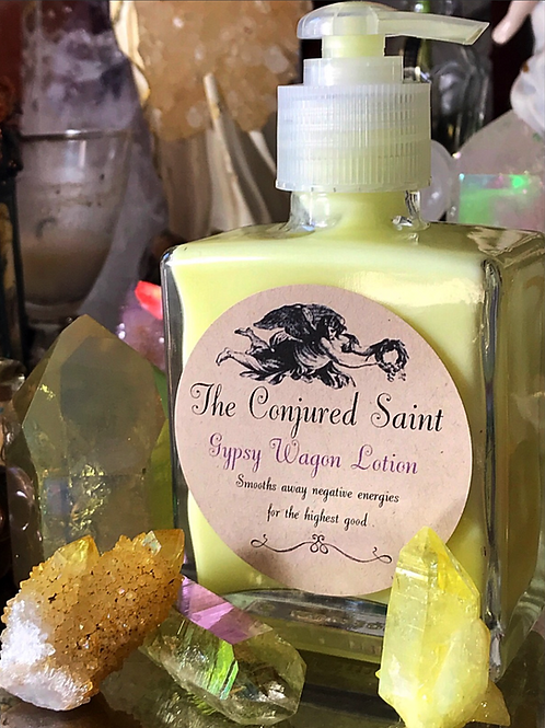 Gypsy Wagon Lotion- Smooths Away Negative Energies for The Highest Good