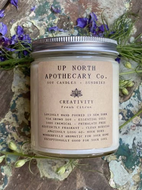 Creativity Candle - Use For Getting Inventive and Artistic Juices Flowing.