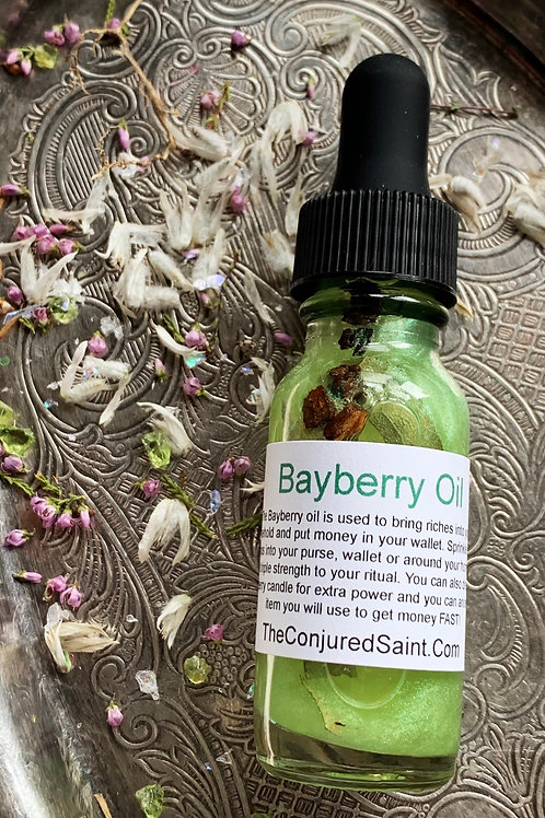 Bayberry Oil- House Blessing, Good Fortune, Wishes, Luck, Money-Drawing Spells