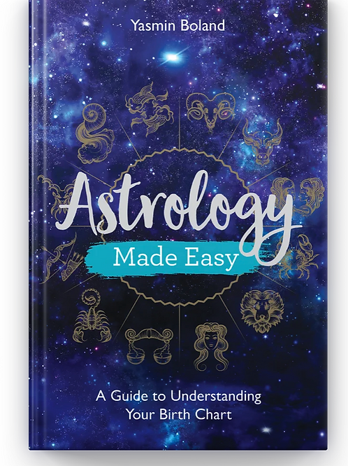 Astrology Made Easy- Paper Book-  A Guide to Understanding Your Birth Chart