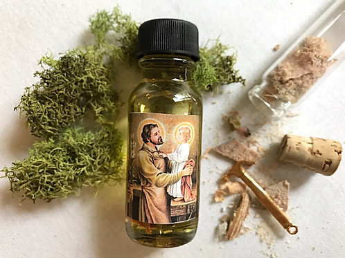 St Joseph Oil -Employment, Business, Sells & Finds Homes, Hoodoo, 7 Day Candle