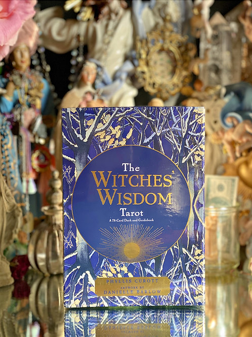 The Witches' Wisdom Tarot- Divination Tool For Witches
