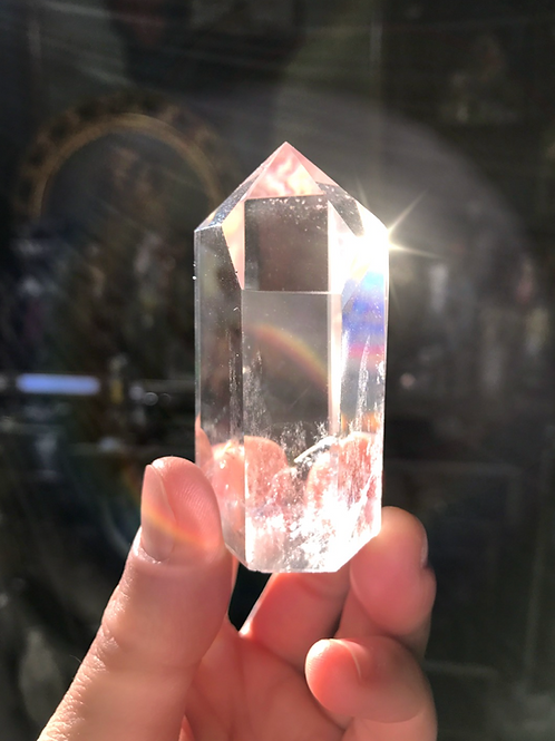 John Of God Blessed And Energized Clear Quartz Crystal