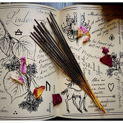 All Purpose Hoodoo Hand Dipped Incense- Blessing, Cleansing, Energy Drawing