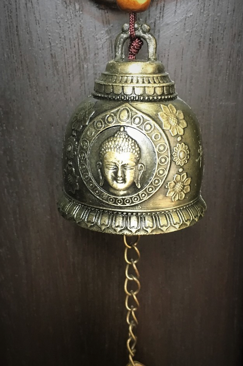 Blessed Feng Shui Buddha Bell- Encourage Good Fortune and Wishes