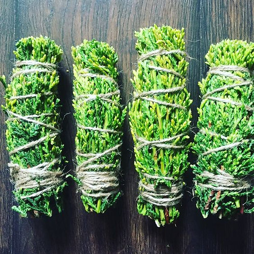 Cedar Sage Smudge Stick- Hand Harvested, Protection Smudging