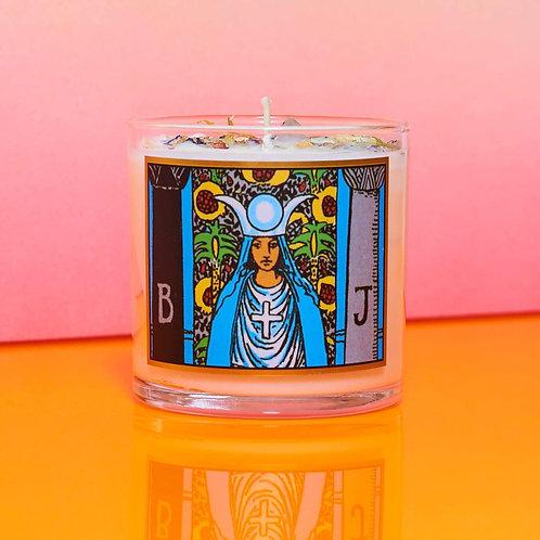 High Priestess Tarot Candle 8oz