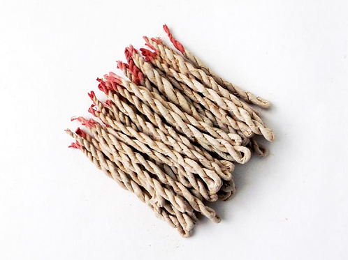 Hand-Made Tibten Monk Incense Ropes- Lemongrass -  Changing Bad Luck To Good