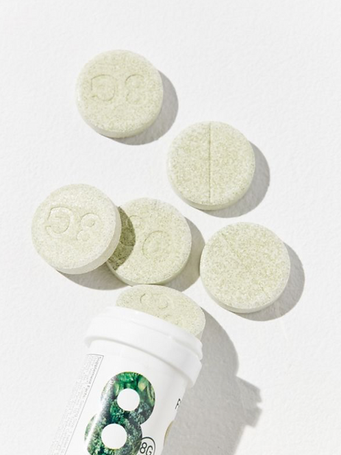 8Greens Effervescent Tablets- Melon- Helps To Nourish The Body