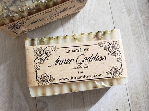 Inner Goddess Soap Bar- Confidence, Inner Strength, Goddess Energy