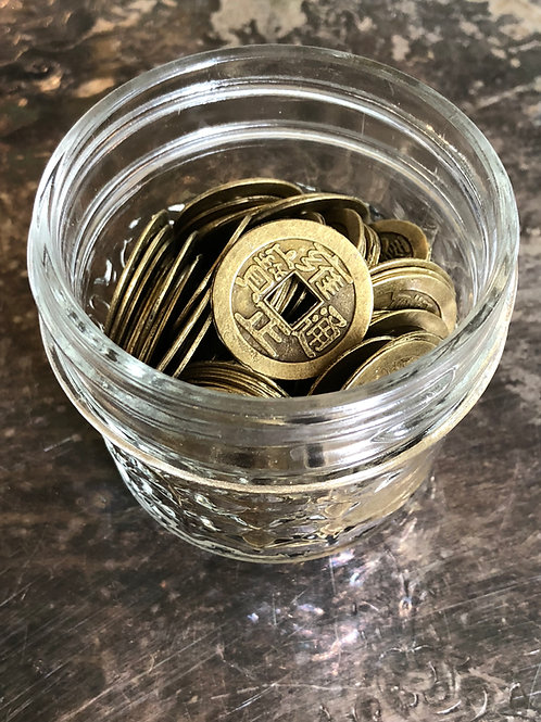 Chinese Coins- Activate Wealth, Luck, Financial Stability