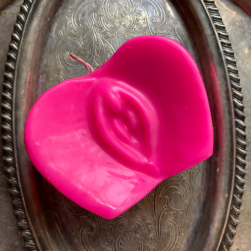 Yoni Apple Candle -Hot Pink- Fidelity, Romances, Enhance Relationships
