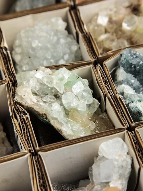 Zeolite Specimen-Apophyllite-  Manifestation Stone, Tranquility, Achievement