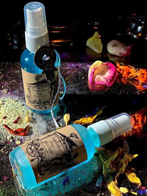 Smokeless Sage Spray, hoodoo, #rootwork #wiccansofinstagram #candlemagic #wicca #hoodoo #pombagira #hoodoospells #witchesofin