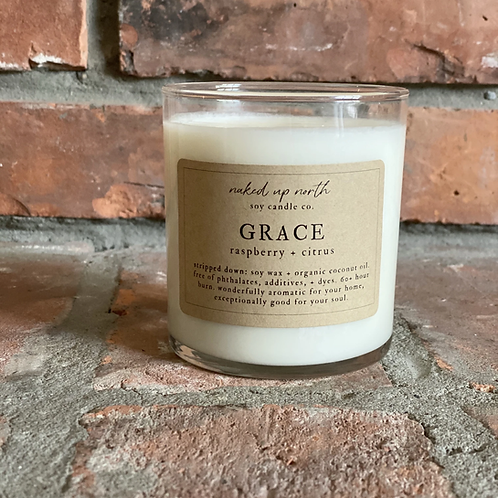 Grace Candle - Use for Divine Grace, Strength, Call on the Divine