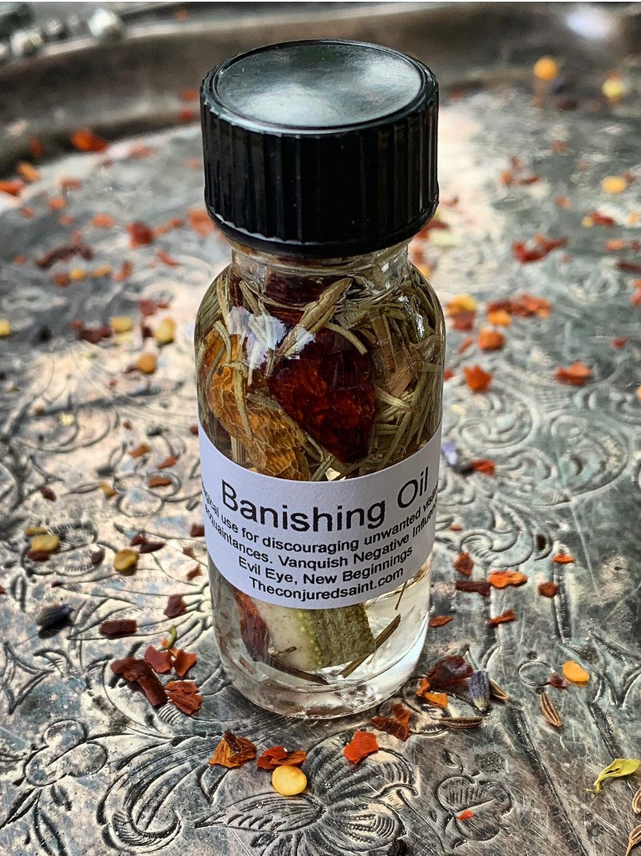 Banishing Oil- Protection, Banishing & Healing | theconjuredsaint