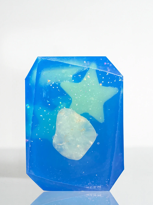 Nostalgia Expedition Soap- Infused with theChrysoprase- New Opportunity