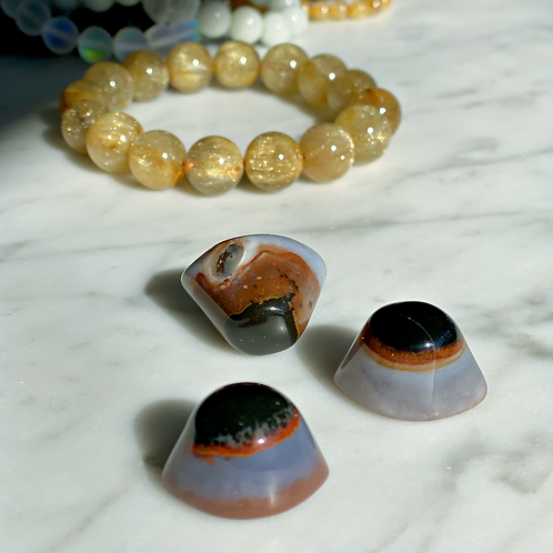 Agate Eye -Third Eye Stone- Used For Protection & Enhance Psychic Abilities