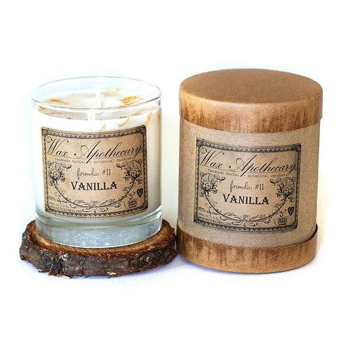Botanical Candle- Vanilla -7OZ  In Scotch Glass