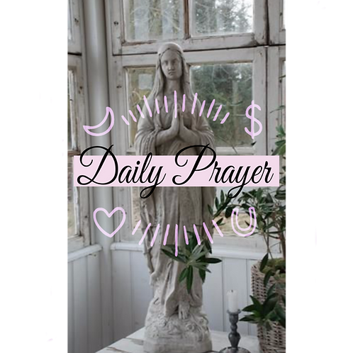 Daily Prayer Ritual Oil-  Roll-on Perfume- Prepared & Steeped For A Full Alchemy
