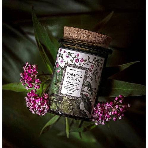 Botanical    Tobacco Flower   Candle (40 Hour Burn)