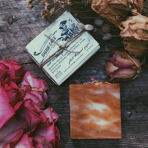Faerie Cake Natural Handmade Soap