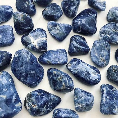 Sodalite Gem Stone- Mental Performance, Companionship, Knowledge