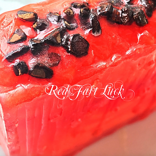 Red Fast Luck Ritual Bath Bar | Luck In A Hurry, Good Fortune