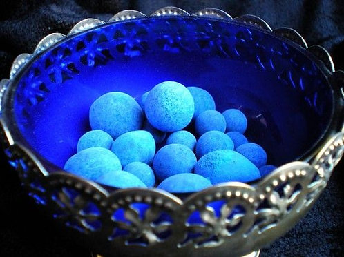 Hoodoo Anil Balls, Mexican Blueing Balls for Gambler's Luck, Cleansing, Success