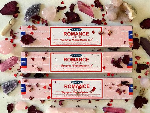 Satya Nag Champa Romance Incense-  Romance, Passion, Love