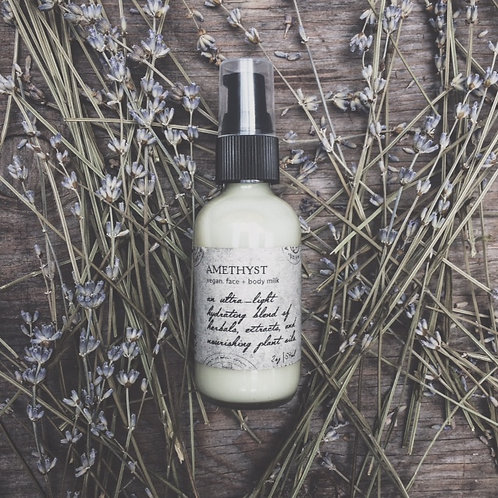 Amethyst | BODY MILK  | Lotions  & Potions