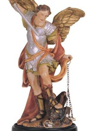 Saint Michael The Archangel Statue & Oil - Highest Protection, Prevail Over Evil