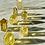 Natural Cognac Citrine Points for Money Magic and Mega-Manifestation