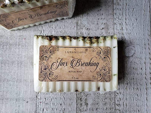Jinx Breaking Ritual Soap- Clear You of Jinxes, Hexes, and Crossed Conditions.