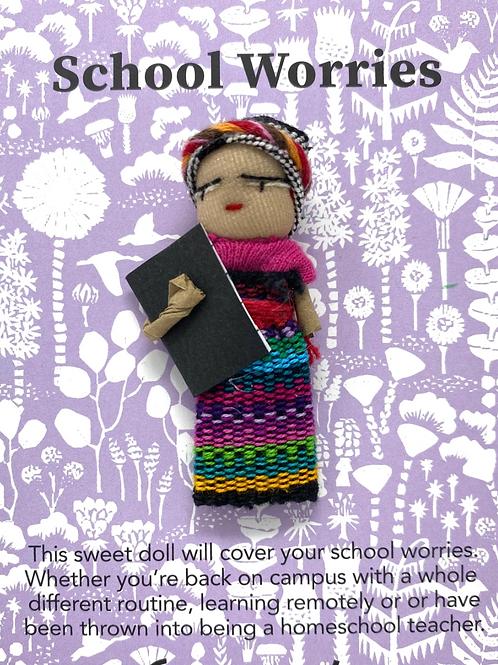 Worry Doll-School -Dreamcatchers & Spiritual Amulets- Remove Worry