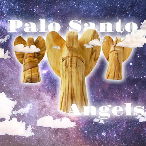 Palo Santo Angel- Burned in Ceremonies by Shamans