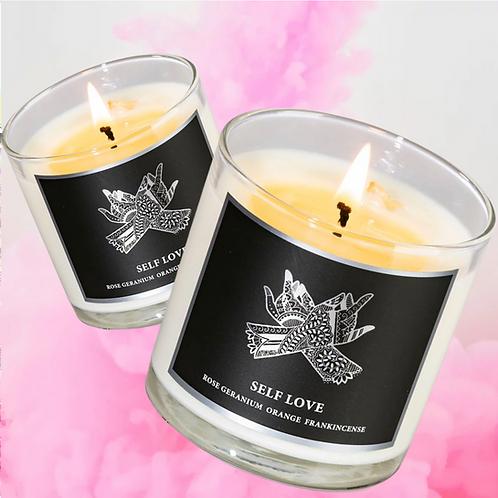 Self Love 8.5oz Candles- Balance, Love, Peace