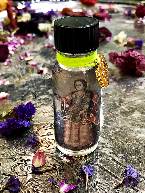 Saint Lucy Oil- Divination, Fortune Tellers, Healing, Clairvoyance, Blessings, Hoodoo, Voodoo, Wiccan, Pagan, Santeria, Bruje
