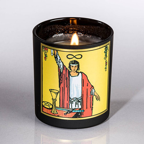 Magician Tarot Candle- Mastery, Ability to Manifest. Creative Power. Blessings