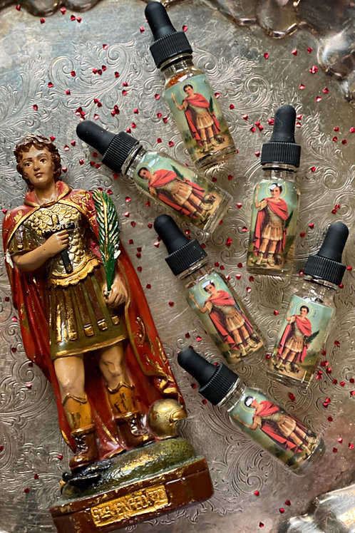 Saint Expedite Oil - Quick Results, Fast Luck, Immediate Action, Spiritual Aid