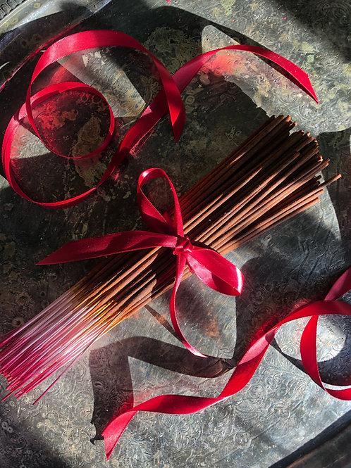Cleo May Sugar Daddy Premium Hand Dipped Stick Incense- Evoke Feminine Power