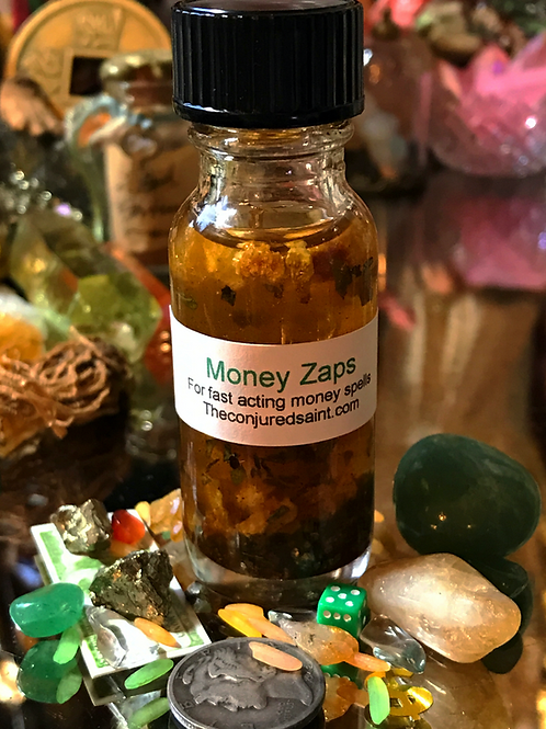 Money Zaps Oil- For Fast Acting Money Spells, Speed, Money, Pay Me Now