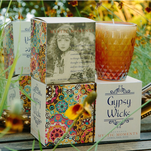 Carnival Collection - Mystic Moments - Gypsy Wicks Candles