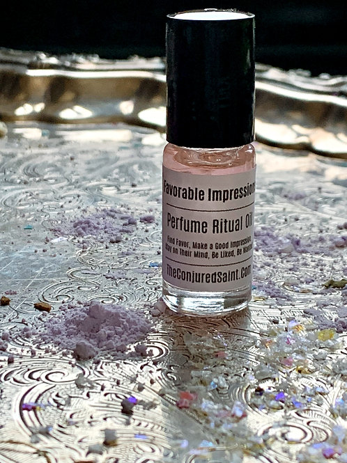 Favorable Impressions -Roll-on Perfume- Prepared For A Full Alchemy Month