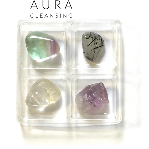 Aura Cleanse - Crystal Box 8 - Purify. Cleanse. Remove Energetic Imbalances.